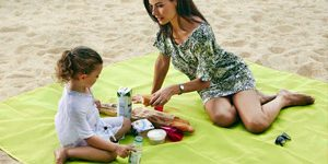 Пляжный коврик анти песок
